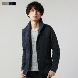 ジャケット メンズ 春 秋 冬 M L 綿 ポリエステル T/C ポンチ素材 カジュアル ジャケット メンズ イタリアンカラー ジャケット
