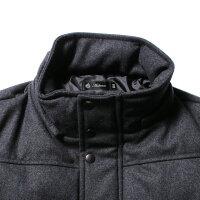 メンズジャケットアウター秋冬新作610gウールメルトン脱着フードダウンジャケットAudienceオーディエンスAUD2873