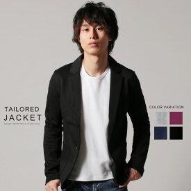 ジャケット メンズ シンプル 秋 冬 春 TC カット テーラード ジャケット NEVER ネバー JP178013