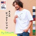 半袖 ビッグT Tシャツ 綿100% USAコットン100%ポケットビッグTシャツ