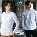 【送料無料】シャツ メンズ 長袖 カジュアルシャツ オックスフォードシャツ ボタンダウン ストライプ メンズファッシ…