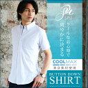 シャツ メンズ ボタンダウン COOLMAX クールマックス 鹿の子ボタンダウン半袖7分袖シャツ SPU (スプ)