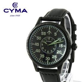 c883dca212 【腕時計 メンズ レディース】CYMA シーマ ROYAL AIR FORCE ロイヤルエアフォース 本革 レザー
