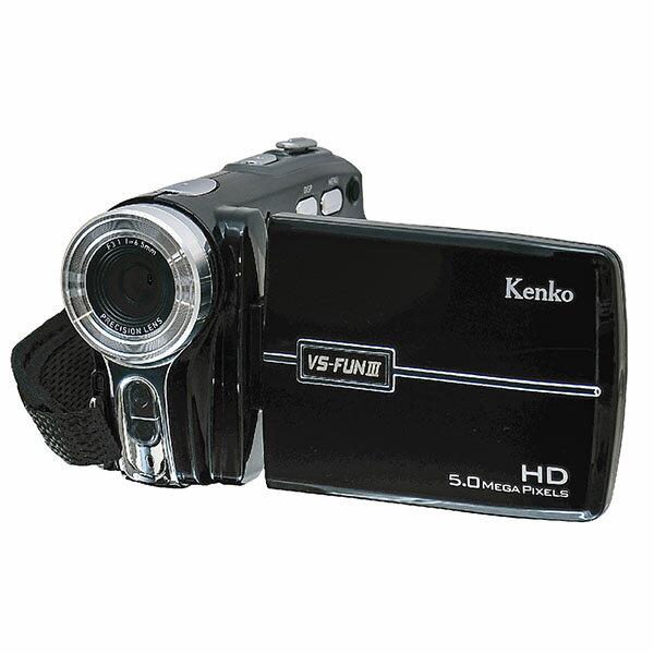 メーカー在庫限り10-6048 ケンコー デジタルムービーカメラ VS-FUN3 4961607434956
