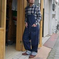 Johnbullジョンブルオーバーオールデニムパンツオールインワンメンズ日本製アウターボトムスワーク系ジーパンジーンズアメカジ人気売れ筋生地綿コットン100%あおブルーかわいいおすすめ人気服