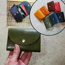 栃木レザー ミニ財布 ウォレット 財布 セカンド財布 ミニサイフ コンパクト 財布 ミニウォレット 小さい財布 カードケ…