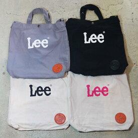 Lee バッグ ショルダーバッグ トートバッグ 2WAYバッグ エコバッグ キャンバスバッグ ロゴ ブランド 斜め掛け キャンパス 生地 リー LEE 小物 スモールプレゼント アクセサリー ユニセックス メンズ レディース かわいい 0425410