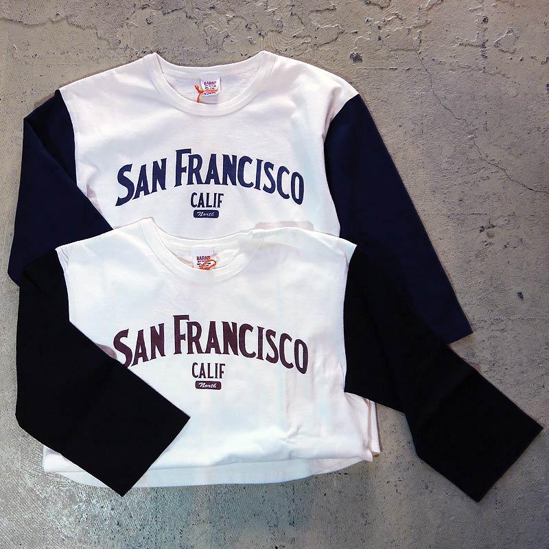 バーンズ 7分T BARNS メンズ プリント ベースボールシャツ カットソー Tシャツ BR-6604 マルチカラー BARNS OUTFITTERS バーンズアウトフィッターズ 人気 服 デザイン おしゃれ ファッション 通販