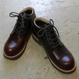 スローウエアライオン ブーツ レザーシューズ 短靴 オックスフォードシューズ 外羽根 ビジネスシューズ ミドルブーツ SLOWEARLION ビブラムソール シューズ メンズ 日本製 通年 コルクソール プルアップレザー クラシック 7E プレゼント