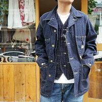 SUGERCANEデニムカバーオールシュガーケーンデニムジャケットカバーオールワークジャケットワークコート日本製ジージャンGジャン東洋エンタープライズsc14371アメカジコーデ世田谷ベース