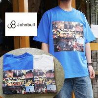 ジョンブルTシャツプリントTシャツメンズレディースバックプリントポケットTシャツポケT派手柄ユニセックス25814JOHNBULLかわいい人気服世田谷ベース