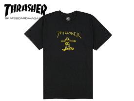 ☆THRASHER【スラッシャー】GONZ T-SHIRT BLACK Tシャツ ブラック 18741 [スケボー メンズ レディース] 10P21Feb15