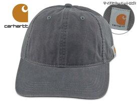 ☆CARHARTT【カーハート】COTTON CANVAS CAP STYLE #103938 GRAVEL コットンキャンバス キャップ グラベル ウォッシュド生地 18820 18969