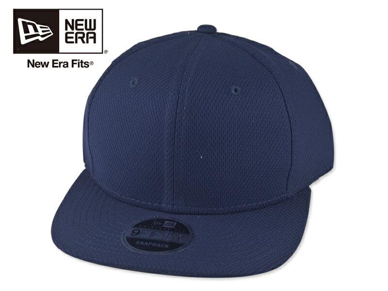☆NEWERA【ニューエラ】NE404 Diamond Era Snapback Cap True Navy ダイアモンドエラ スナップバック キャップ ネイビー 16397[9色 無地 カスタム シンプル 野球帽]10P19Dec15