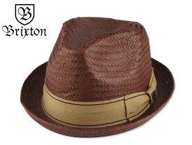 bb32c87715d76c ☆BRIXTON 【ブリクストン】CASTOR FEDORA HAT BROWN/GOLD キャスター フェドラ ハット ブラウン/