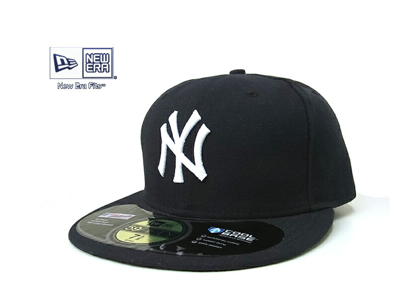 ☆NEWERA【ニューエラ】59FIFTY NEW YORK YANKEES AUTHENTIC BASEBALL CAP ニューヨークヤンキース オーセンティックベースボールキャップ 7374 10727 12944【送料無料】10P03Sep16
