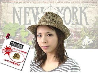 ☆NEWYORKHAT#7016 SEAGRASS FEDORA shigurasufedora 8217/8744 10566 12157