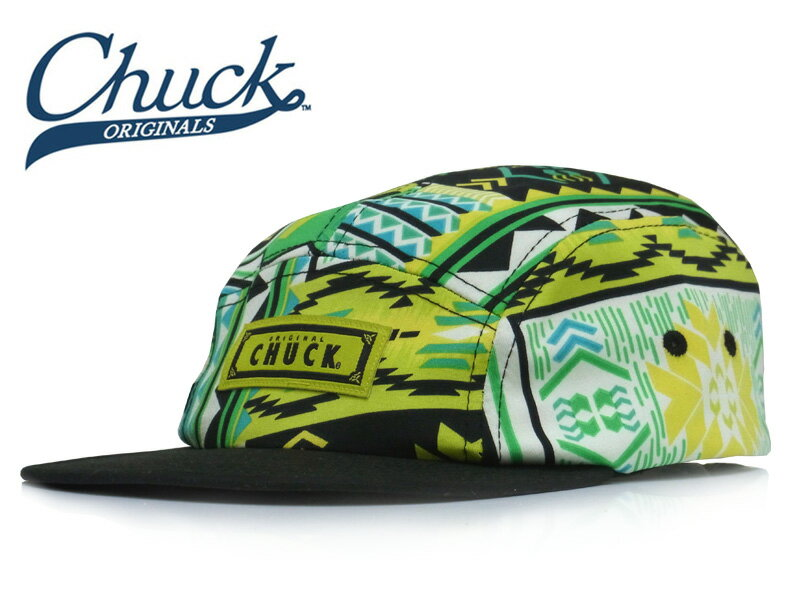 ☆CHUCK【チャックオリジナルス】Chuck ORIGINALS ACID QUEST CAMPER 12216 [スナップバック メンズ レディース ポリ/スパン生地 ]