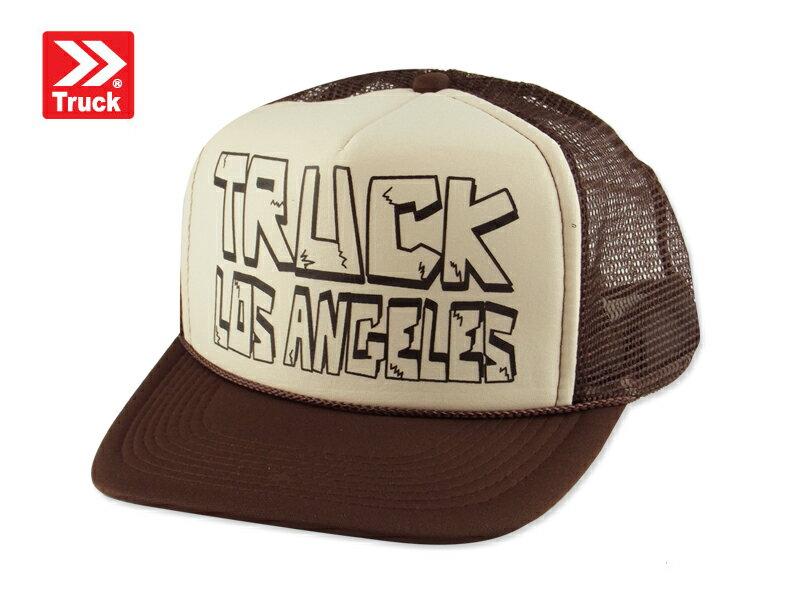☆TRUCK BRAND【トラックブランド】BLOCK #Y-22 メッシュキャップ ブロック ブラウン/ベージュ 8730 [SNAPBACK スナップバック アメカジ 帽子 メンズ レディース]14297 10P05Dec15