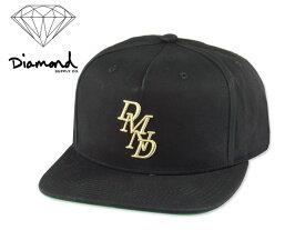 DIAMOND SUPPLY【ダイアモンド サプライ】SERIF SNAPBACK BLACK スナップバック ブラック 15433 [メンズ レディース スケボー] 10P19Dec15