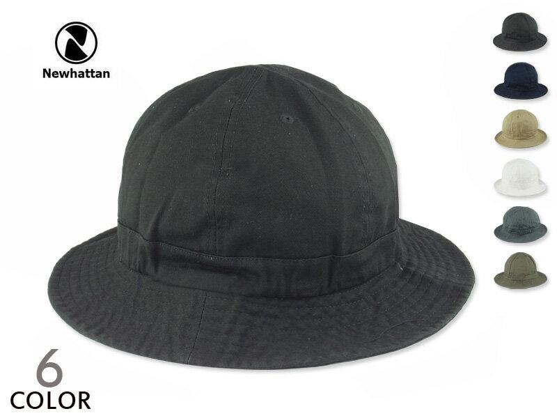 ☆NEWHATTAN【ニューハッタン】COTTON Tennis Hat コットン テニスハット 15498 [メンズ レディース メトロハット バケットハット]P25Apr15