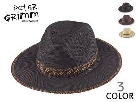 ☆PETER GRIMM【ピーターグリム】RViktor ビクター ストローハット 14593[メンズ レディース 麦わら帽]