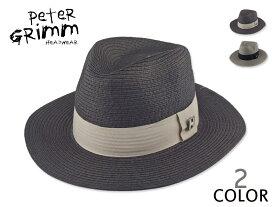 ☆PETER GRIMM【ピーターグリム】Corby コービー ストローハット 14595 [メンズ レディース 麦わら帽]
