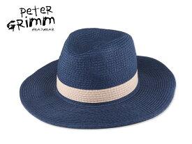 ☆PETER GRIMM【ピーターグリム】Junia ジュニア ストローハット 14611 [メンズ レディース 麦わら帽]