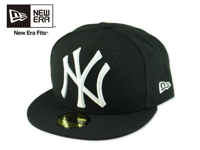 ☆NEWERA【ニューエラ】 59FIFTY NEWYORK YANKEES LOGO GRAND BLACK グランドロゴ ブラック 15448 [NBA メンズ レディース] 10P05Dec15