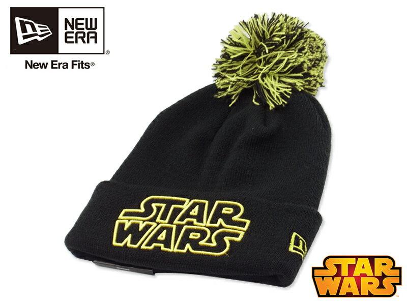 ★【在庫処分特価】NEWERA×STAR WARS【ニューエラ×スターウォーズ】Star Wars Logo Cuff Knit CLASSIC LOGO クラシック ロゴ ビーニー 14233【メール便対応】10P03Sep16