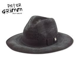 ☆PETER GRIMM【ピーターグリム】RUTHERFORD FELT HAT BLACK ラザフォード フエルト ハット ブラック 14307[今季 メンズ レディース トレンド ツバ広] 10P03Sep16