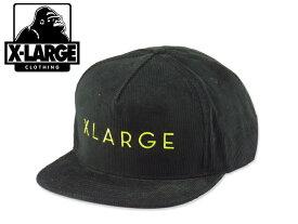 ☆X-LARGE【エクストララージ】SLIM SLANT SNAPBACK BLACK スリム スラント キャップ ブラック 14445 [SKATE SK8 スケボー] 10P01Mar15