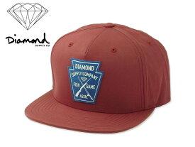 DIAMOND SUPPLY【ダイアモンド サプライ】GAME CREST SNAPBACK BURGUNDY ゲーム スナップバック バーガンディ 14621 10P19Dec15