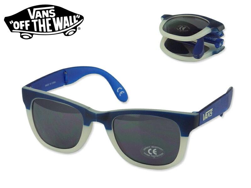 ☆VANS【バンズ】FOLDABLESPICOLI 4SHADES Victoria Blue/Vintage Khaki フォルダブル スピコリフォーシェード ブルー/ホワイト 11462 13211 サングラス [UVカット ツートーン] 10P26Mar16