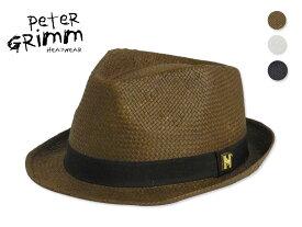 ☆PETER GRIMM【ピーターグリム】POTSDAM PAPER STRAW HAT ポツダム ペーパーストローハット 13334 [中折れ 帽子 メンズ レディース]10P05Oct15