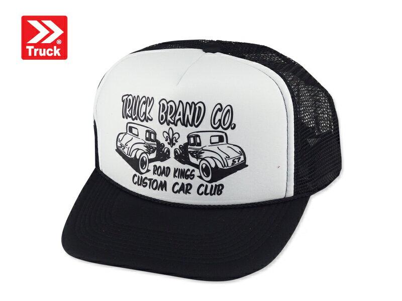 ☆TRUCK BRAND【トラックブランド】CAR CLUB #Z-13 メッシュキャップ カークラブ ブラック/ホワイト 8730 [SNAPBACK スナップバック アメカジ 帽子 メンズ レディース]14297 10P05Dec15