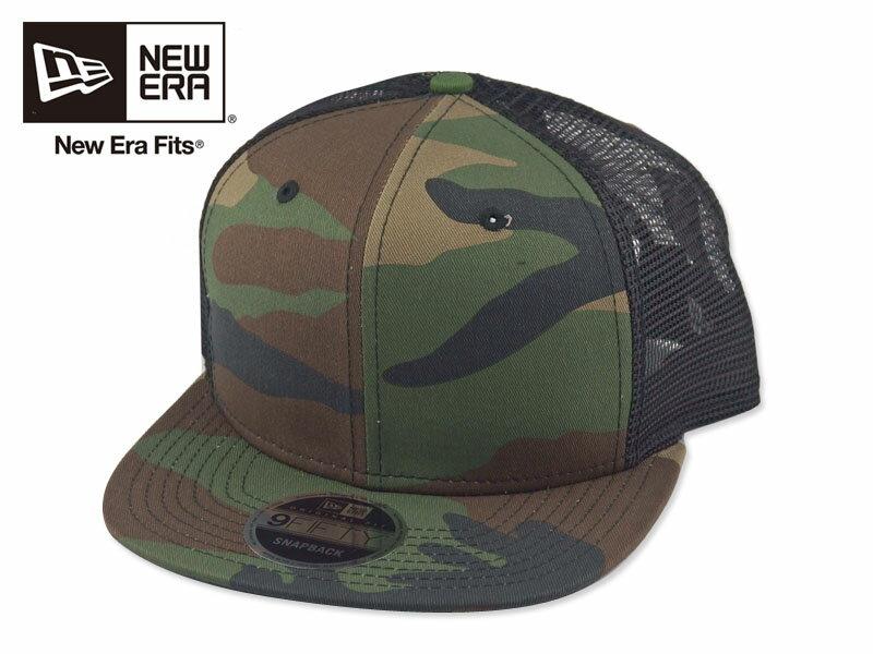 ☆NEWERA【ニューエラ】ORIGINAL FIT TRUCKER CAP NE403 CAMO フィットトラッカー キャップ カモ 15930[無地 カスタム シンプル 野球帽] 10P03Sep16