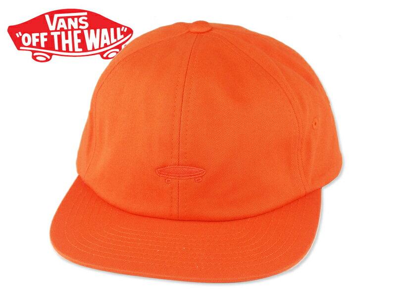 ☆VANS【バンズ】SALTON II STRAP BACK CAP FLAME ストラップバック オレンジ 15566 [SKATE SK8 スケボー ヴァンズ] 10P21Feb15