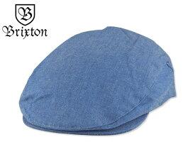 ☆BRIXTON【ブリクストン】HOOLIGAN HUNTING BLUE CHAMBRAY フーリガン ハンチング ブルーシャンブレー 15968【大きいサイズ】【送料無料】P23Jan16