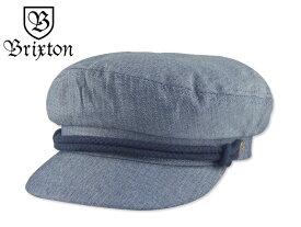 ☆BRIXTON【ブリクストン】FIDDLER CAP SMOKE BLUE フィッシャーマン スモークブルー 15970【送料無料】