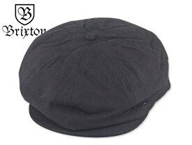 ☆BRIXTON【ブリクストン】BROOD SNAP CAP BLACK ハンキャス ブロード ブラック 16542【送料無料】