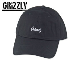 GRIZZLY【グリズリーグ】Late To The Game Dad Hat Black ダッドキャップ ブラック 16830 [メンズ レディース]