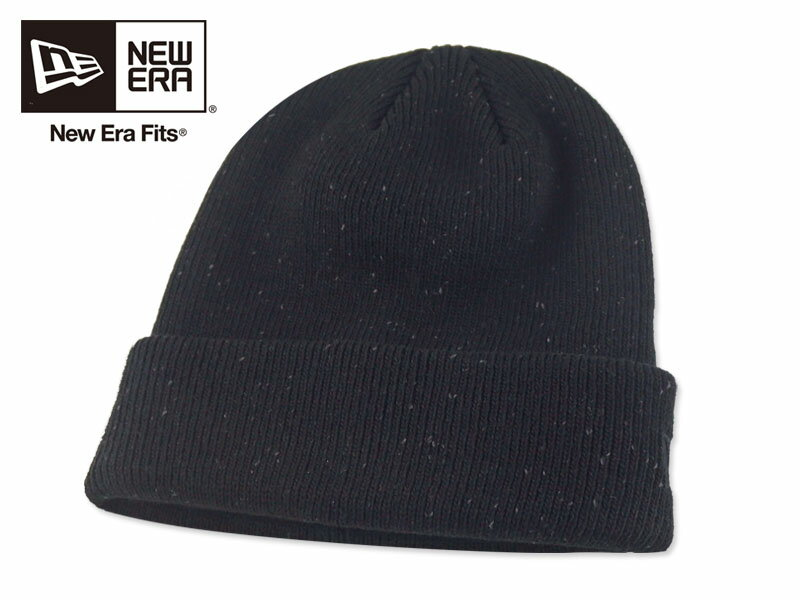 ☆NEWERA【ニューエラ】Speckled Beanie Black/Graphite ブラック/グラファイト ビーニー 16870 [秋冬 ニット帽 ニットキャップ メンズ レディース] 10P05Dec15