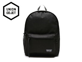 ☆UNION OBJET【ユニオンオブジェ】CANVASBAG BLACK (WHITE/BLACK) バッグ ブラック ホワイト/ブラック 17248[メンズ レディース 韓国 EXO リュック アウトドア bag バッグ 旅行 遠足 通学 通勤]