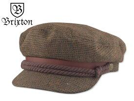 ☆BRIXTON【ブリクストン】FIDDLER CAP MOSS/BROWN フィッシャーマン モス/ブラウン 15970【送料無料】