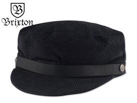 ☆BRIXTON【ブリクストン】KURT CAP BLACK ワークキャップ ブラック 17251【大きいサイズ】【送料無料】P23Jan16