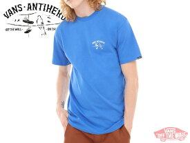 ☆VANS×ANTI HERO【バンズ×アンタイヒーロー】ON THE WIRE SS ROYAL Tシャツ ロイヤル 17600 [T-shirts SKATE SK8 スケボー ヴァンズ] 10P26Mar16
