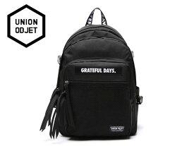 ☆UNION OBJET【ユニオンオブジェ】3D MESH BACKPACK M01 BLACK 3Dメッシュ バックパック ブラック [2019 メンズ レディース 韓国 EXO リュック アウトドア bag バッグ 旅行 遠足 通学 通勤]
