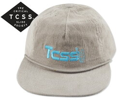 TCSS【ザクリティカルスライドソサイエティ】CHILLY BIN CAP LIGHT GREY コーディロイキャップ ライトグレー 18076 [2019 サーフィン メンズ レディース]