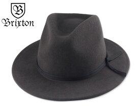 ☆BRIXTON【ブリクストン】COLEMAN FEDORA HAT WASHED BLACK 中折れハット ウォッシュドブラック 17249 [スケーター] 10P05Dec15
